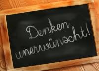 denken unerwünscht by Gerd Altmann